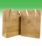 Kraft Promotional Cheap Logo Shopping Bags