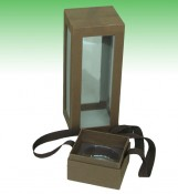 Wine Bottle Box With Window