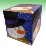 Glitter Christmas Showing Box