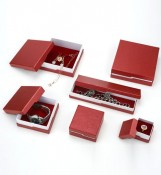 A Set of Red Jewelry Box