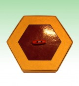 Hexagonal Shaped Custom Chocolate Boxes