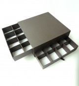 Recycle combination chocolate box (two drawers)