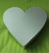 High End Heart Shape Cardboard Box