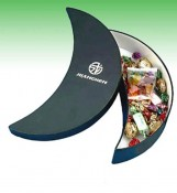Food Packaging Box for Sweets with Crescent Moon Shape