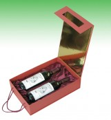 Tow Bottle Paper Wine Packing Box